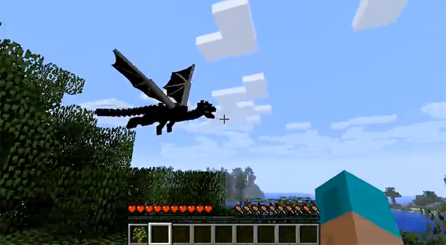 videos of the end flying dragons from minecraft 19 � egmnow