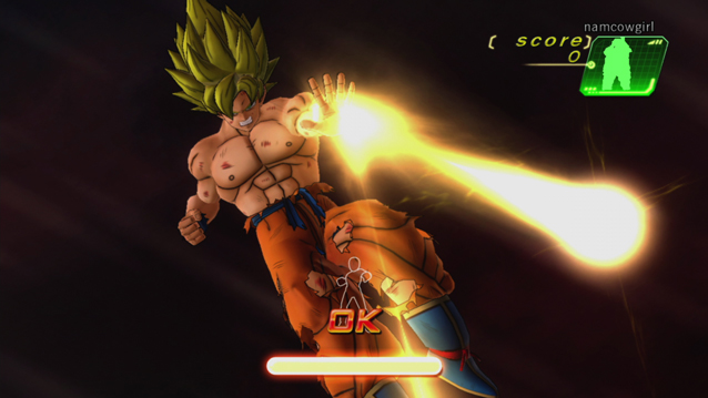 Hands on dragon ball z kinect egmnow for Dragon ball z living room