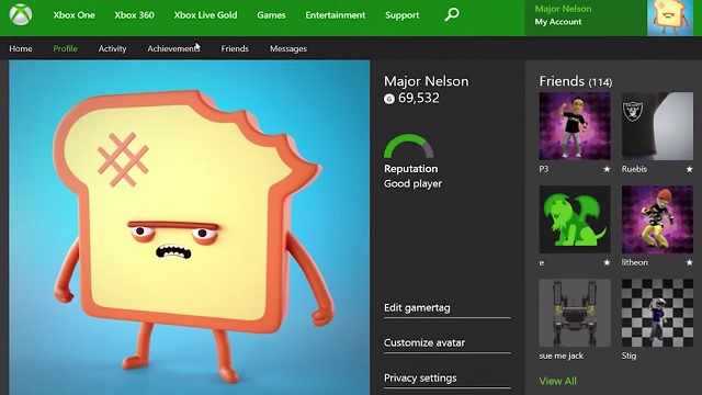 how to delete xbox one games from profile