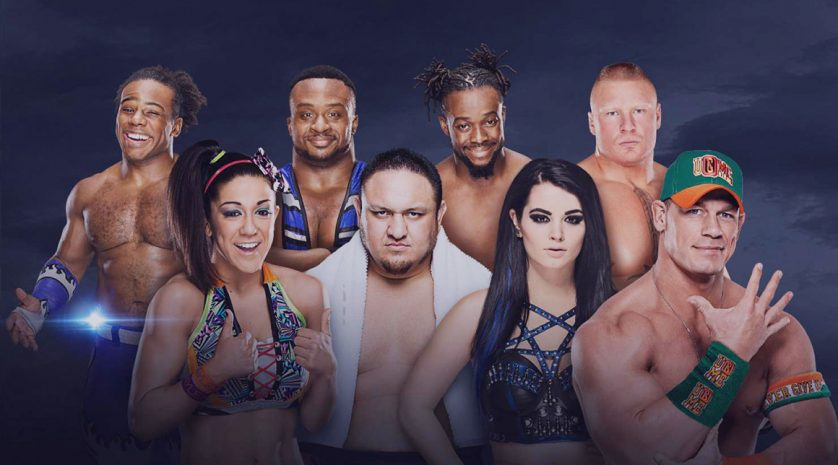 WWE header