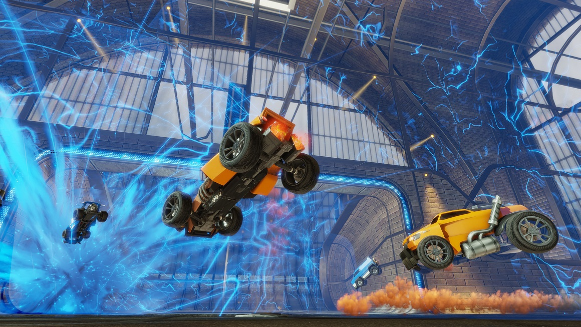 how to connect controller to rocket league pc