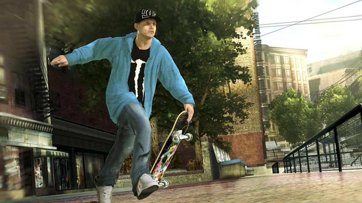 Skate 2 off board