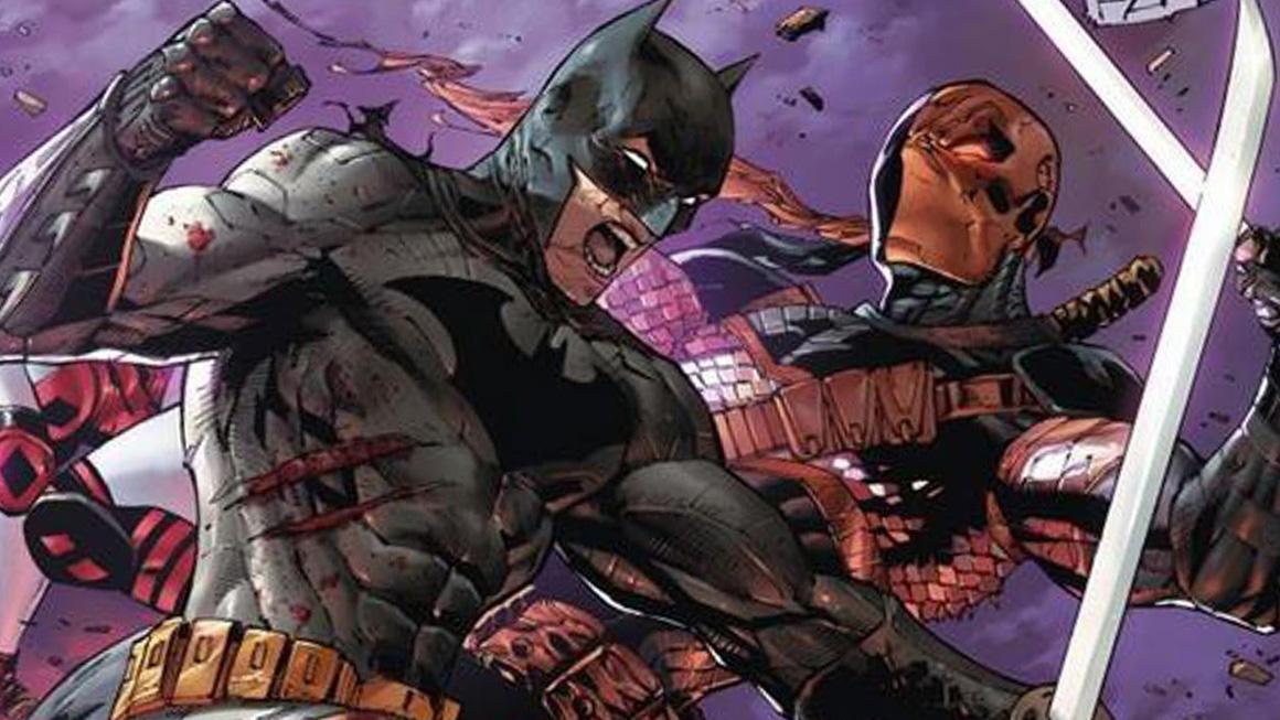 Deathstoke vs Batman feat