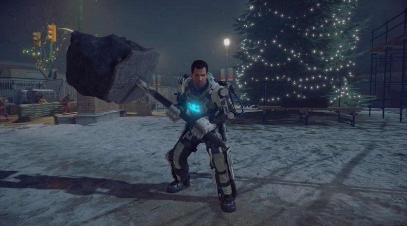 Dead-Rising-4-christmas-tree-mech-suit
