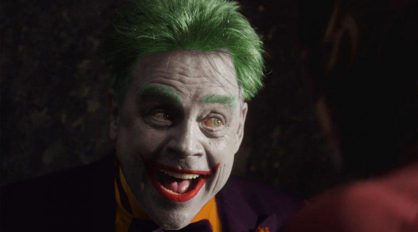 Hamill as Joker