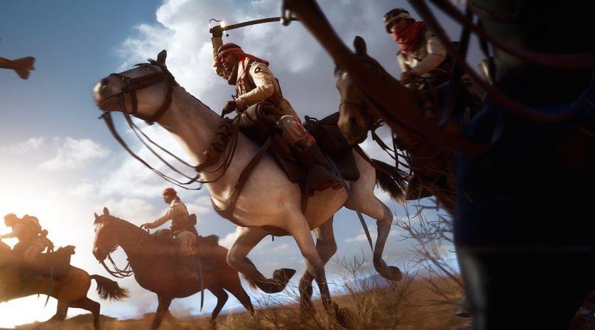 Battlefield-1-Horse-Desert