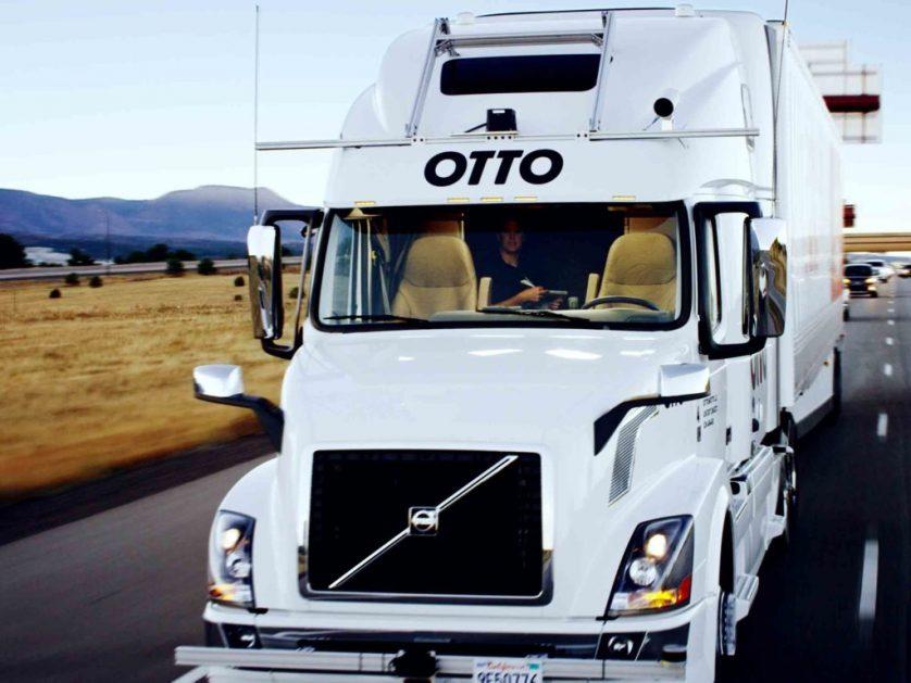 Uber Otto 18-wheeler