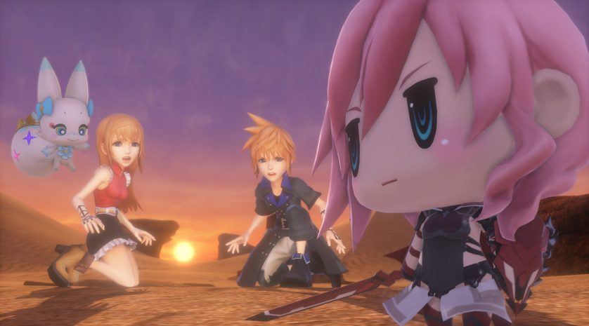 World of Final Fantasy - Header