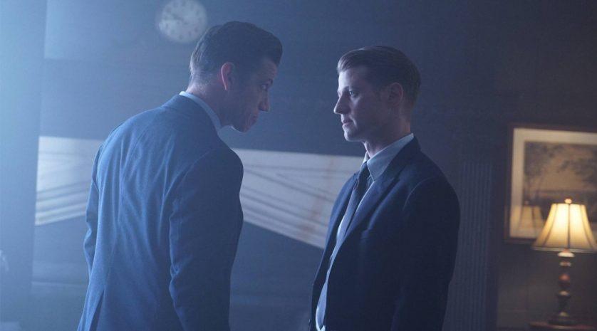 James Carpinello and Ben McKenzie in Gotham