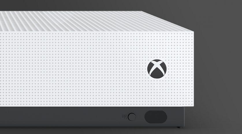 Xbox One S Console Front Tilt