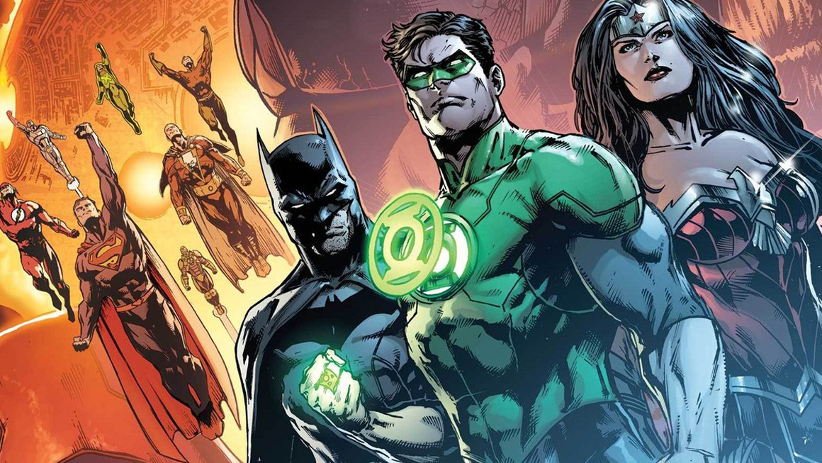 Green Lantern Justice League feat