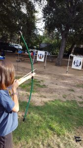 Jedi Girl Scouts shoot first.