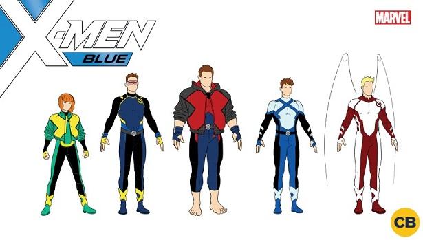 X-Men Blue Costumes