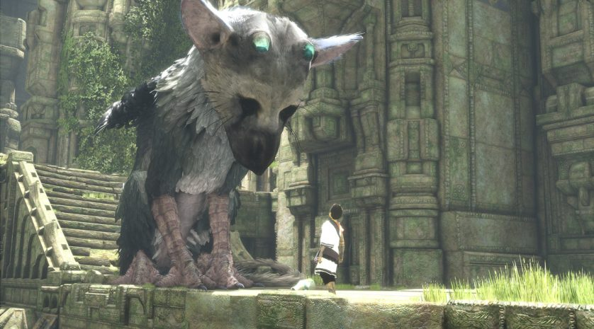 The Last Guardian trico and boy
