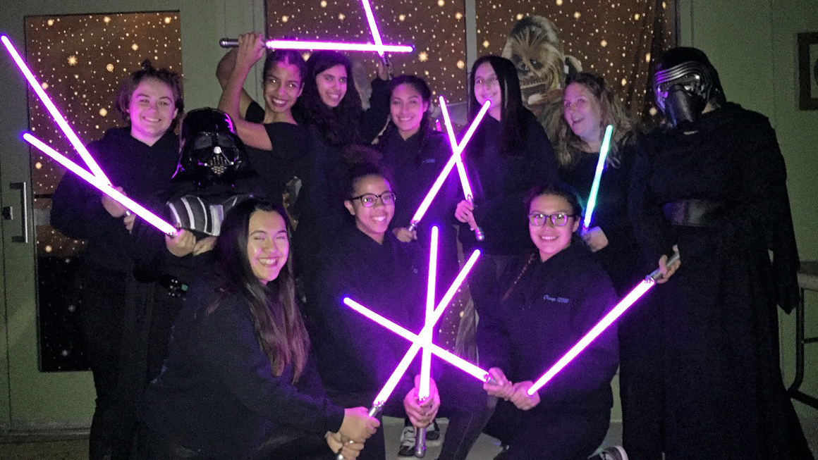 Jedi Girl Scouts Camp feat