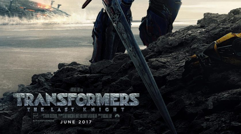 Transformers The Last Knight New Poster feat