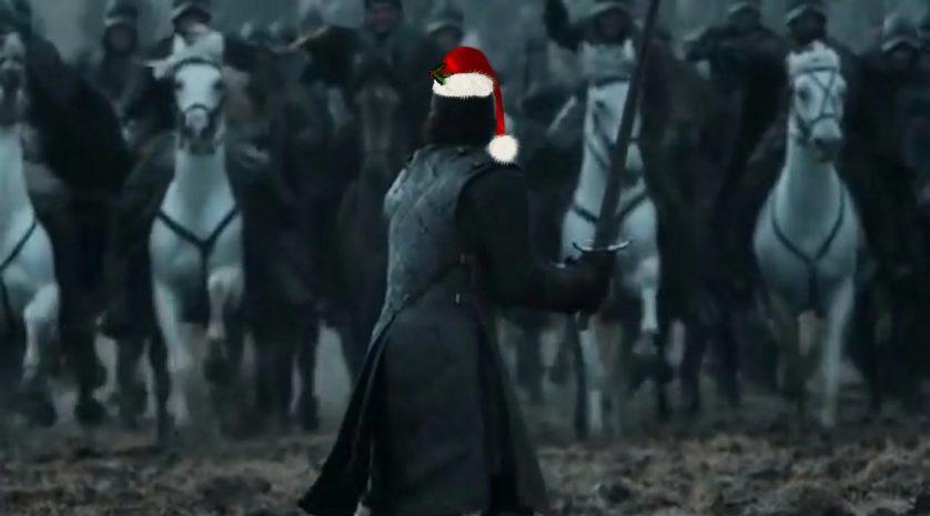 jon snow santa