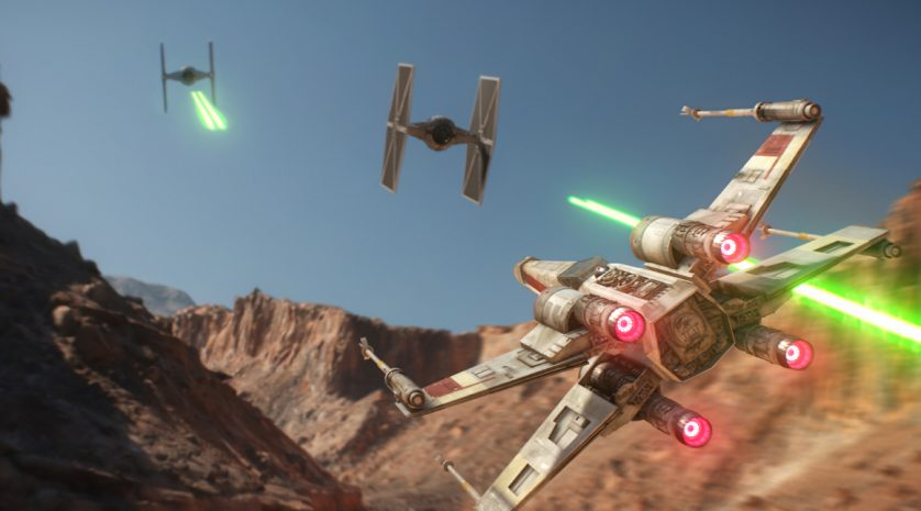 Star Wars Battlefront X Wing