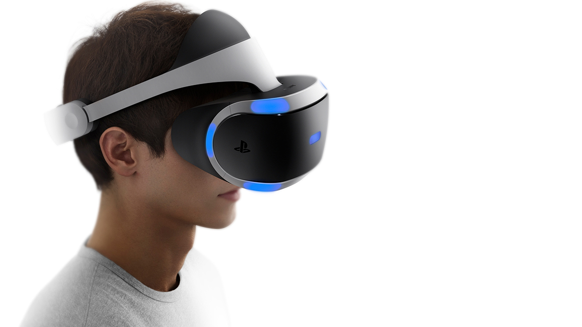 PlayStation VR man
