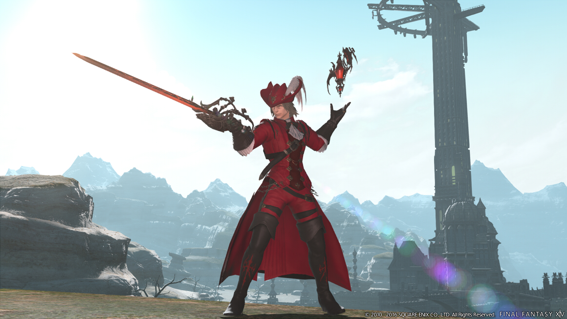 FF14 Red Mage