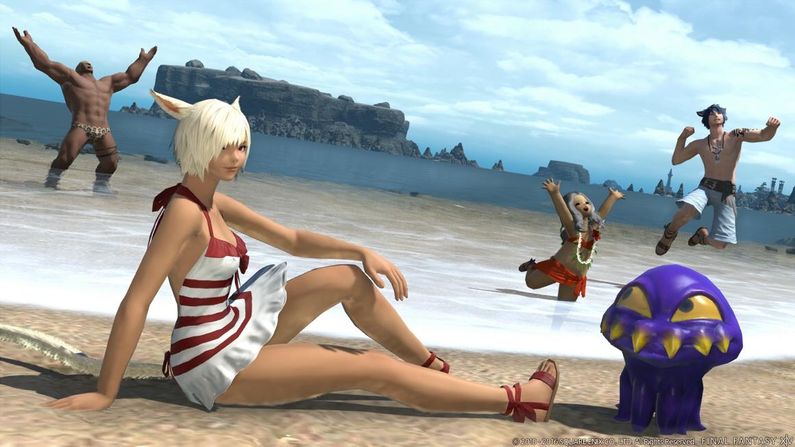 FF14 Beach