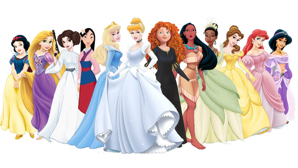 Disney-Princesses-with-Leia