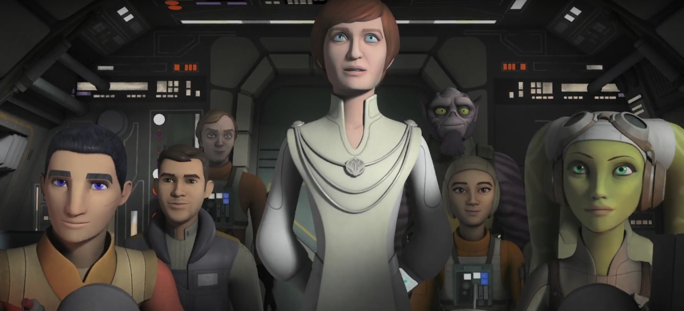 Star Wars Rebels Mon Mothma