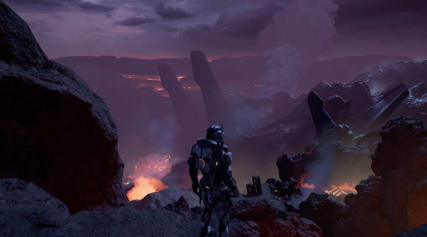 Mass Effect Andromeda FLOOR IS LAVA