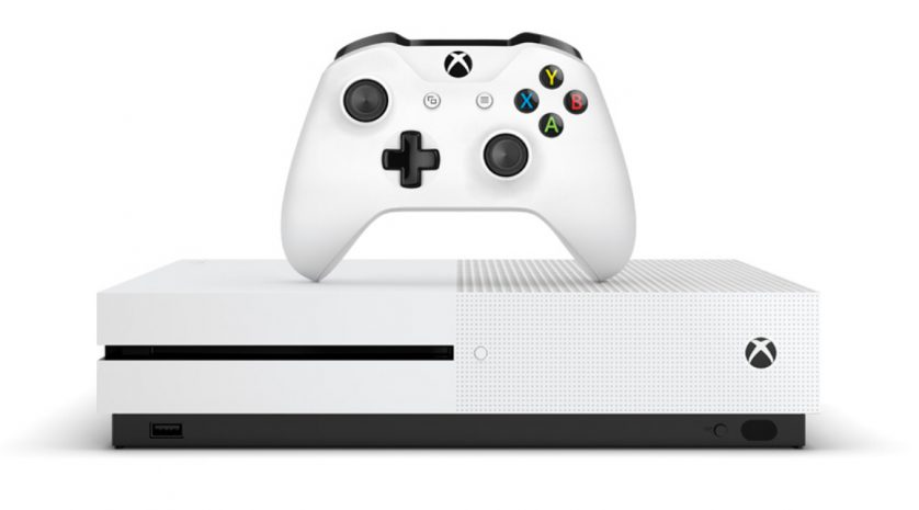 Xbox One S white on white