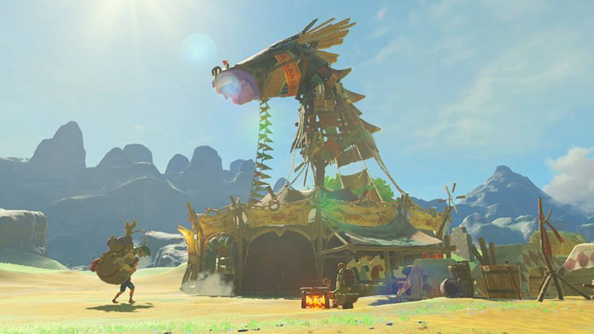 Breath of the Wild horse shop