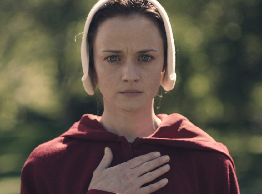 Alexis Biedel in The Handmaids Tale