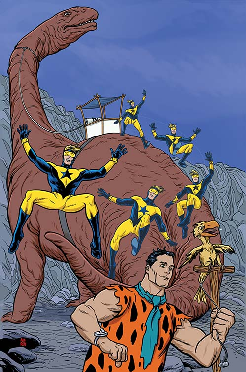 Booster Gold Flintstones Annual 1