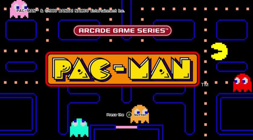 Arcade-Game-Series-Pac-Man-Xbox-One-title-screen-main