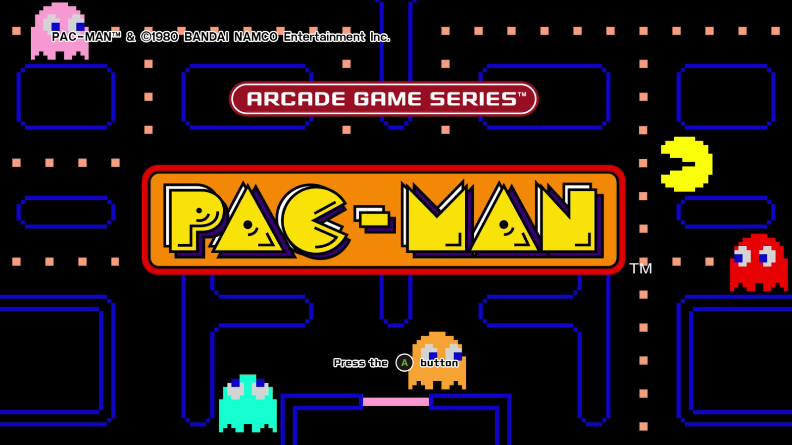 Arcade-Game-Series-Pac-Man-Xbox-One-title-screen-main