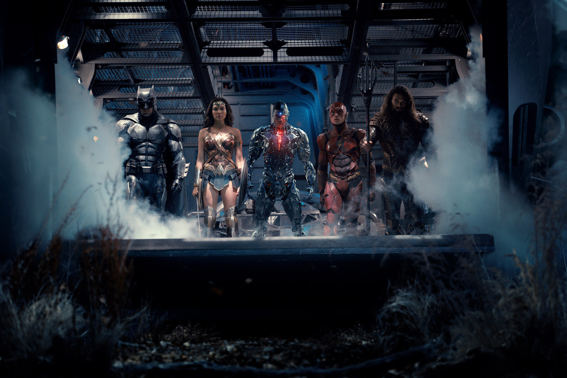 Justice League Hi-Res Team Photo