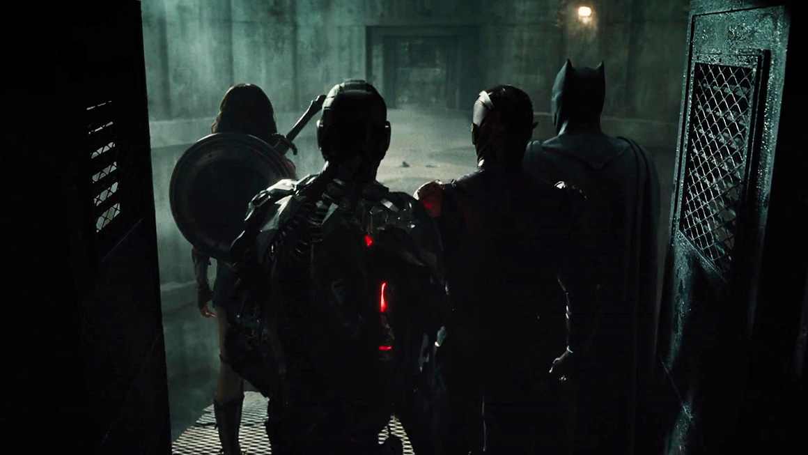 Justice League Team United Photo feat