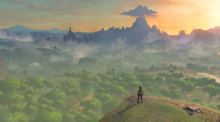Breath of the Wild panorama