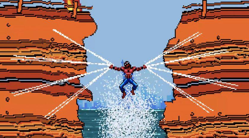 Spider-Man 8bit feat