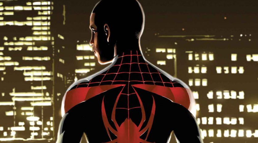 Animated Spider-Man Miles Morales feat
