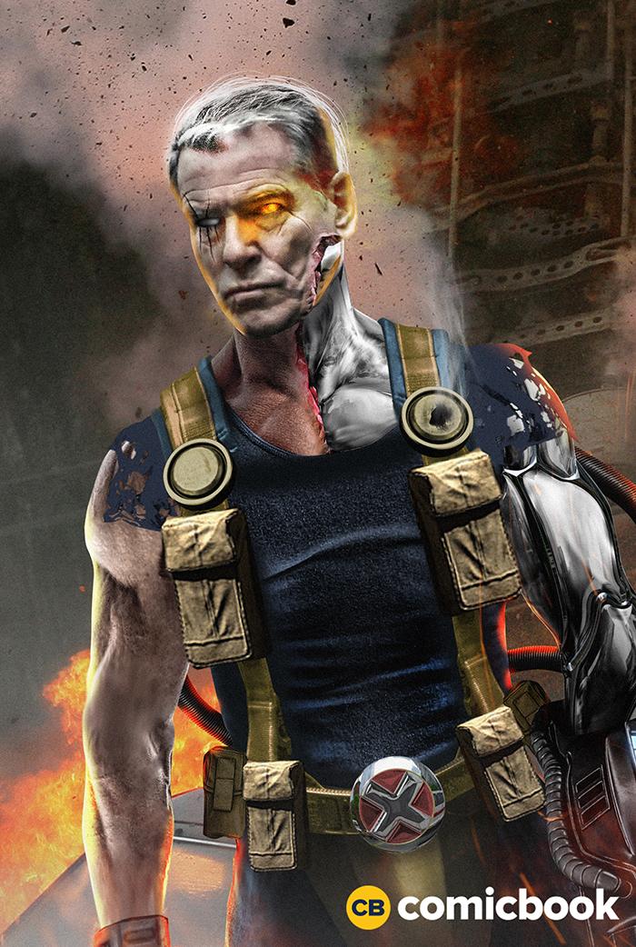 Pierce Brosnan as Cable