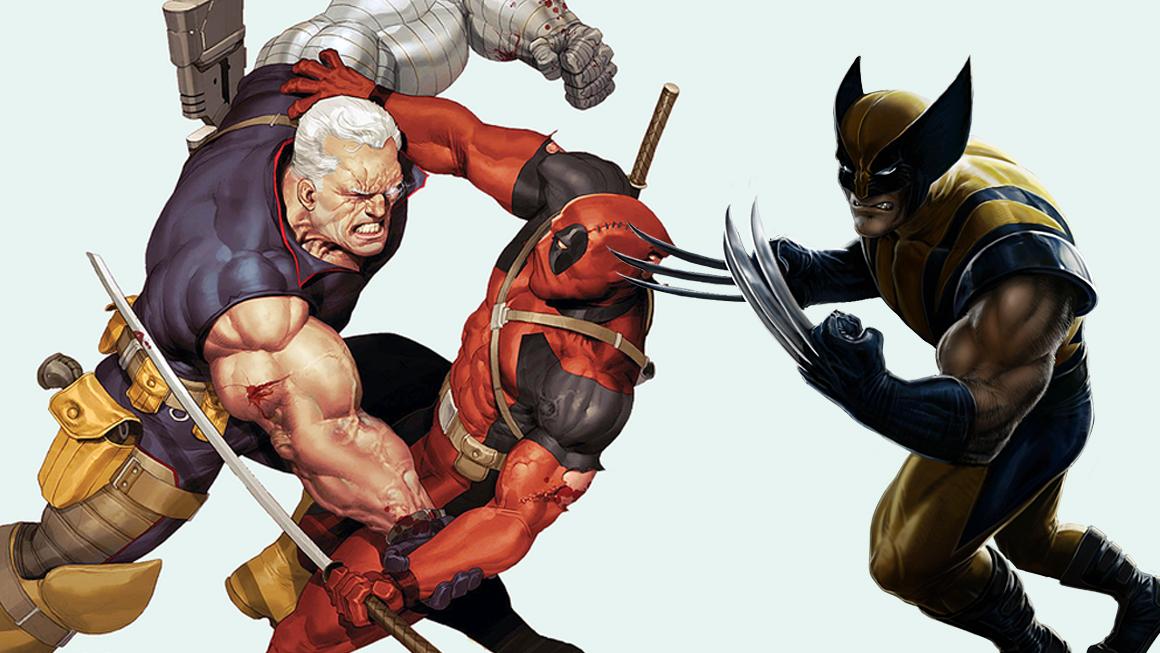 Deadpool Pierce Brosnan Cable Wolverine feat