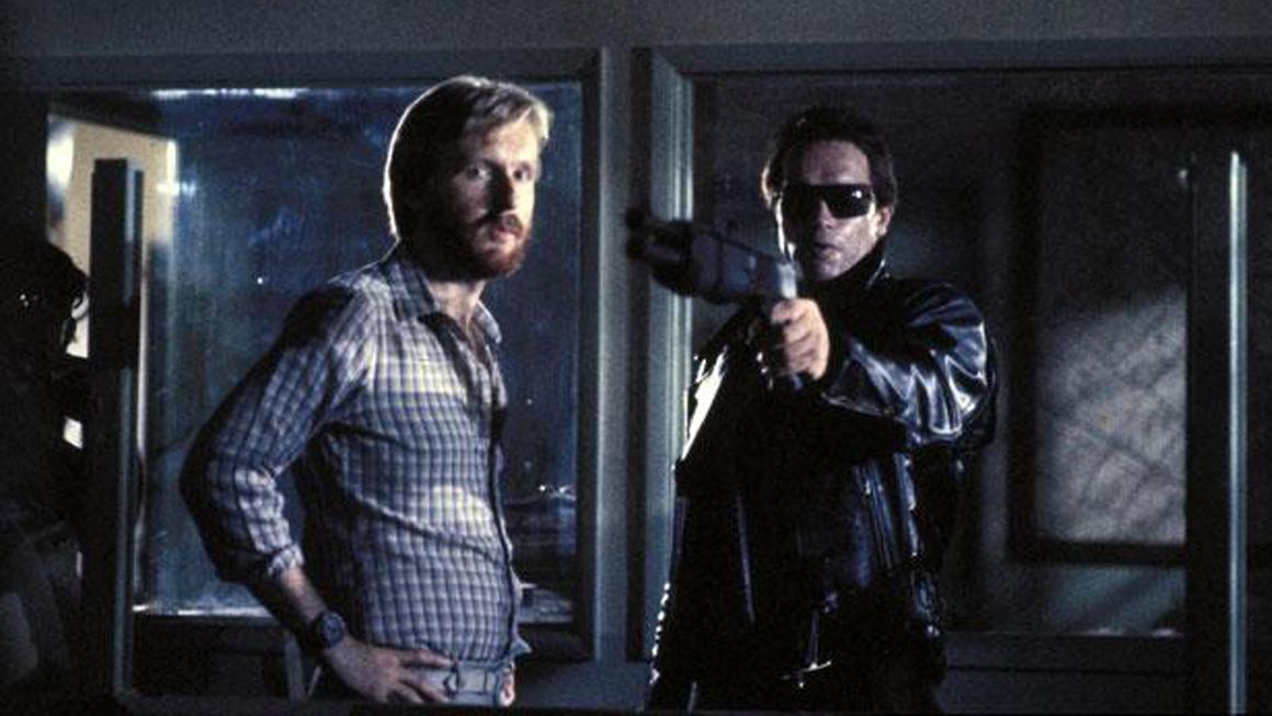 Cameron and Schwarzenegger - 1984