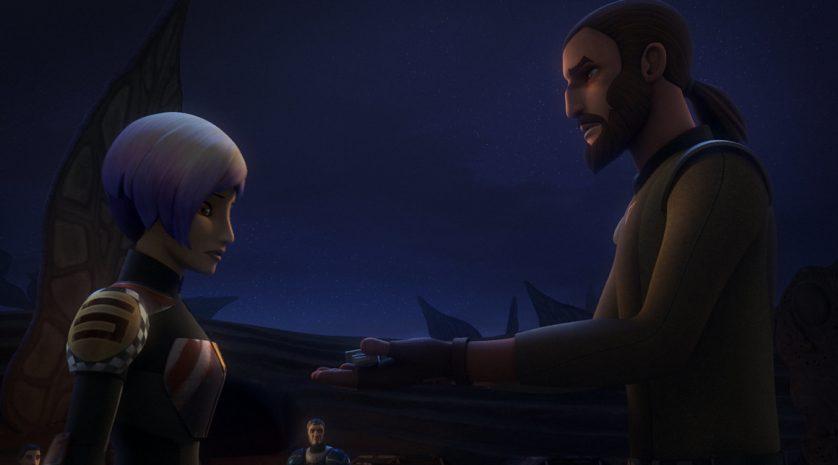 Star Wars Rebels Sabine Kanan Trials of the Darksaber