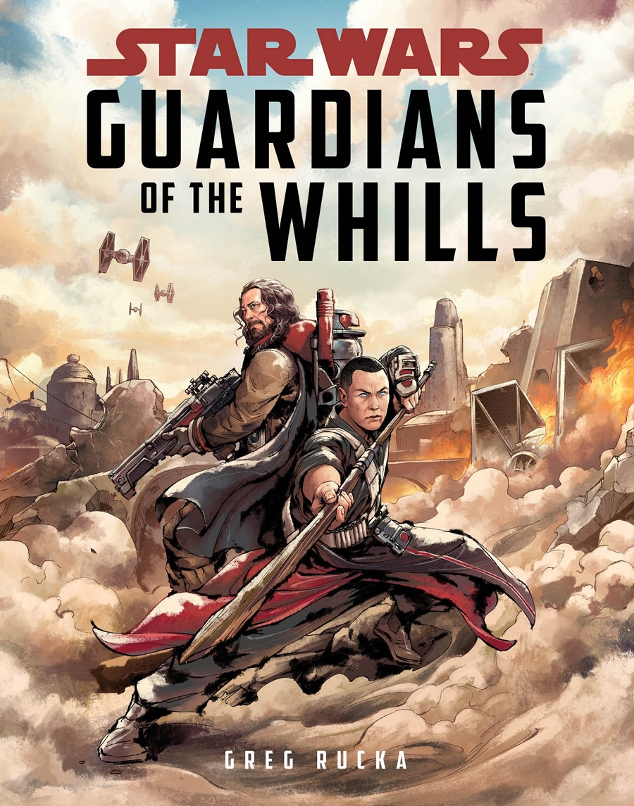Star Wars Guardians of the Whills Cover Baze Chirrut