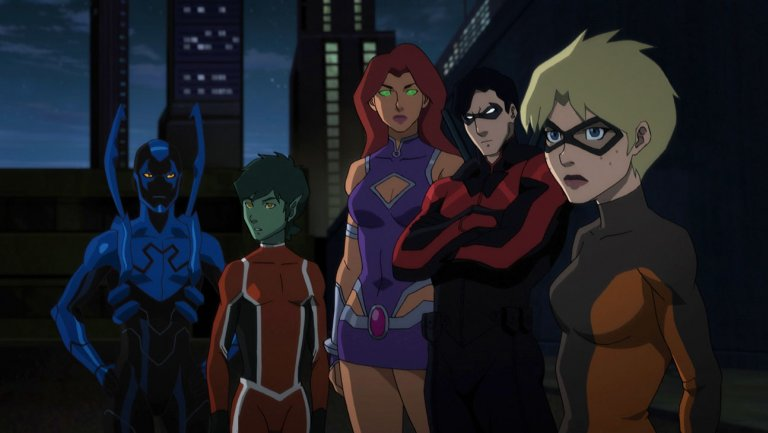 Teen Titans First Look - The Team