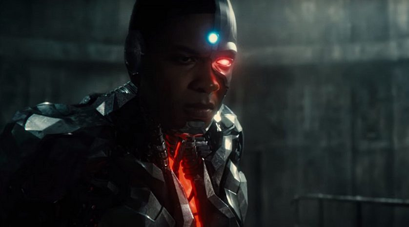 Justice League Cyborg team image feat