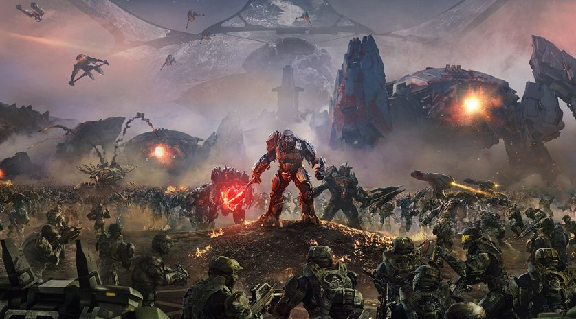 Halo Wars 2 Vertical Key Art