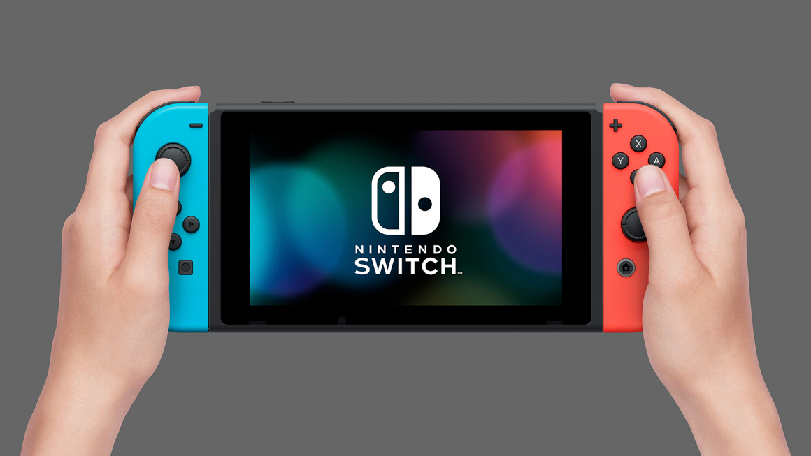 Nintendo Switch neon