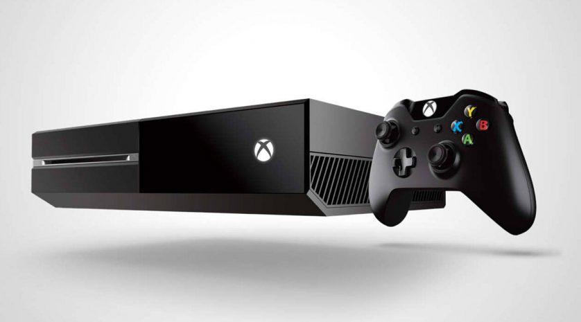 Xbox One angled