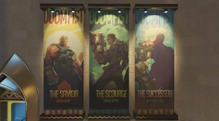 Doomfist posters